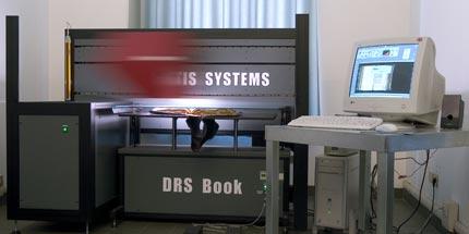 Uno degli scanner digitali del laboratorio