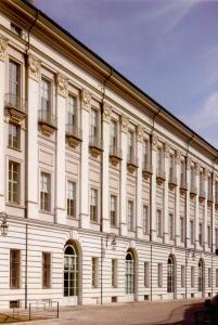 Archivio di Stato di Torino, Sezione Corte, ingresso su piazzetta Mollino.